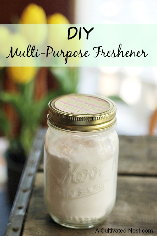 DIY Multi-purpose Freshener