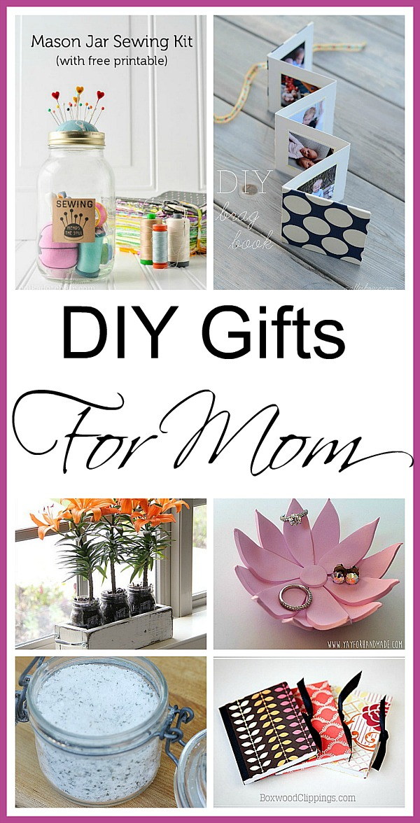 DIY Mother's Day Gifts - For some great Mother's Day gift ideas, check out this collection of awesome ideas that any Mother would love! | #diyGifts #homemadeGifts #giftsForMom #mothersDay #ACultivatedNest