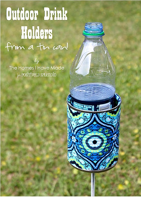 Easy Mod Podge Projects: DIY Drink Holder