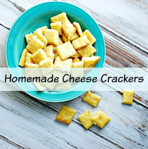 Easy Homemade Cheese Crackers