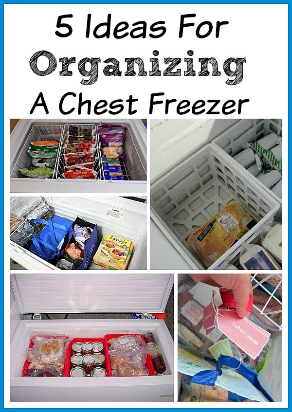 Ideas For Organizing A Chest Freezer