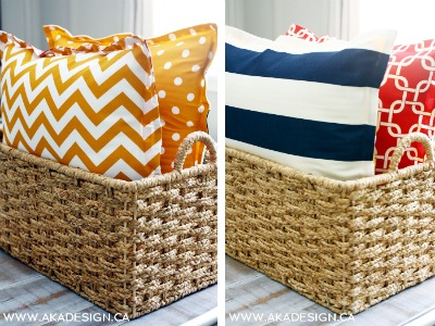 10 No Sew Home Decor Projects: Floor pillows