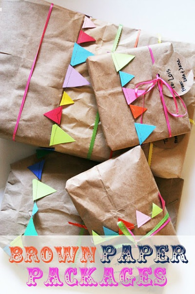 10 Beautiful Brown Wrapping Paper Ideas