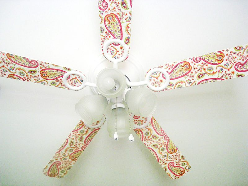 Mod Podge Projects: Ceiling Fan Makeover