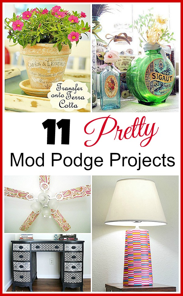 "Learn how to Mod Podge. ABOUT THE PRODUCT. Is Mod Podge really Elmer's glue? No. MP can glue things down, but it is also a sealer and a finish. It has ""special"" ingredients that school/craft glue doesn't have. It's much stronger than Elmer's, especially over the long haul."