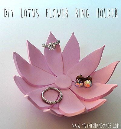 Mother's Day Gifts: DIY Ring Holder