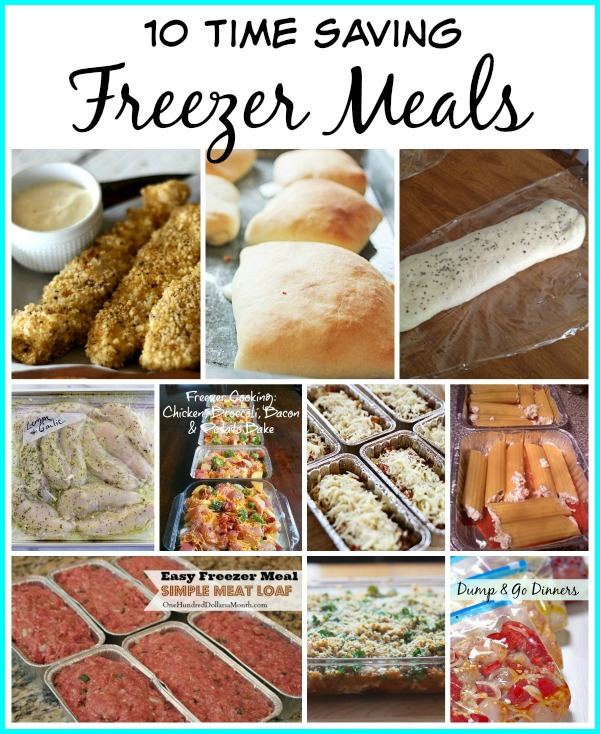 10 Make Ahead Freezer Meals  For Lunch Or Dinner