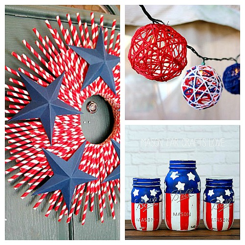 Home Design Ideas For Seniors: 15 Creative Patriotic DIY Home Decor Projects- A