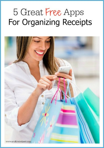 5 Free Apps For Organizing Your Reciepts