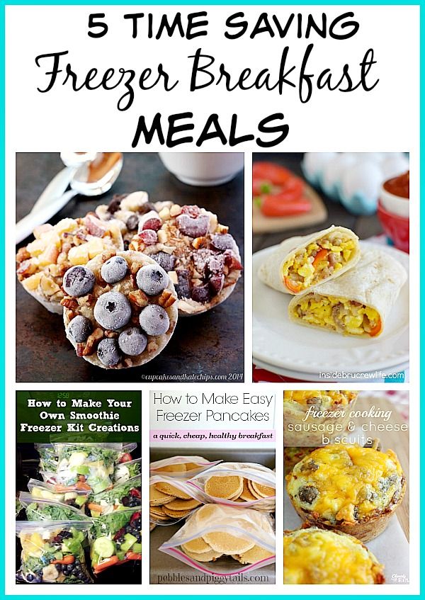 Freezer Meals: 5 Time Saving Freezer Breakfast Meals