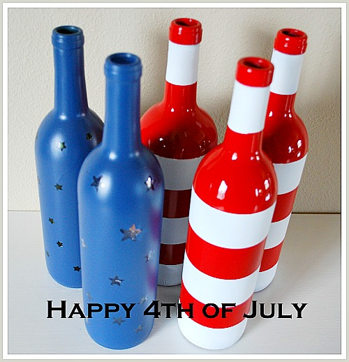 15 Creative Patriotic DIY Home Decor Projects- If you want to add a patriotic touch to your home for Memorial Day, the Fourth of July, or just because, then you need to check out these 15 patriotic DIY Home Decor Projects! | #FourthOfJuly #MemorialDay #patriotic #DIYProjects #DIY #craft #decor