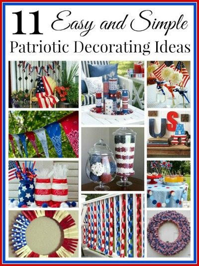 Easy Patriotic Home Decorating Ideas