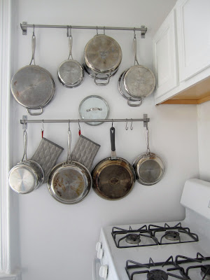 10 Awesome Pot and Pan Kitchen Storage Ideas- Tired of your pots and pans always being unorganized? You need to check out these handy tips for organizing pots and pans! | #kitchenOrganization #organizingTips #organizationIdeas #organize #ACultivatedNest