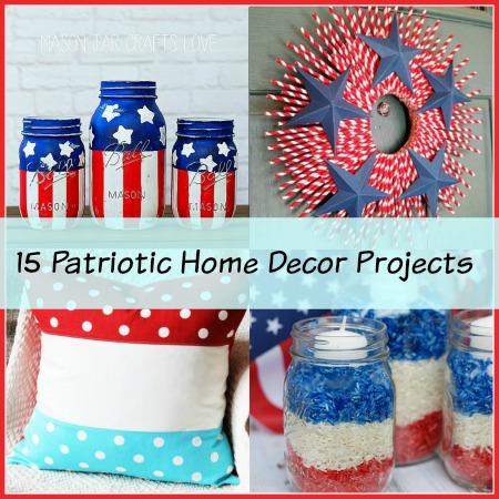 15 Creative Patriotic DIY Home Decor Projects