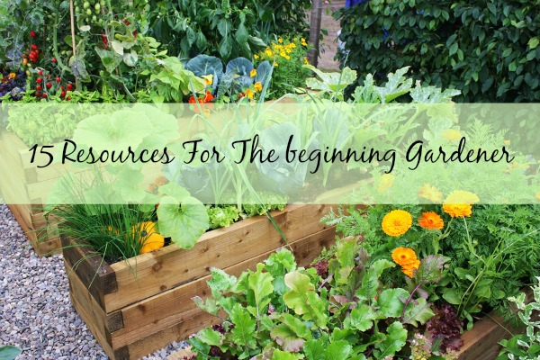 15 Resources For The Beginner Gardener