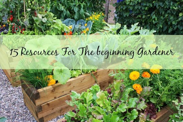 15 Resources For The Beginner Gardener