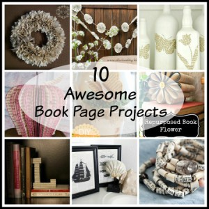 10 Awesome Book Page Projects