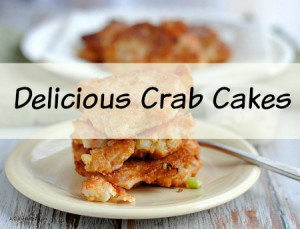 Delicious Homemade Crab Cakes