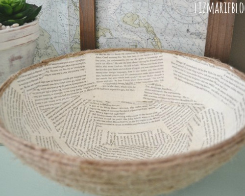 12 Awesome Upcycled Book Page DIYs- Do you love repurposing old things into something new and pretty? Then you'll love these book page projects! | book upcycle projects, #upcycle #repurpose #recycle #diyProjects #ACultivatedNest