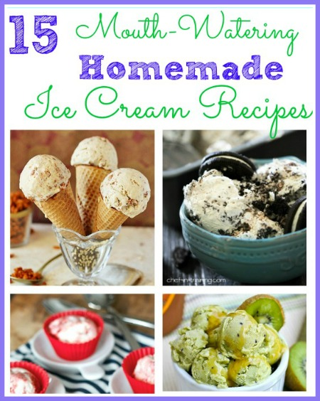 15 Homemade Ice Cream Recipes