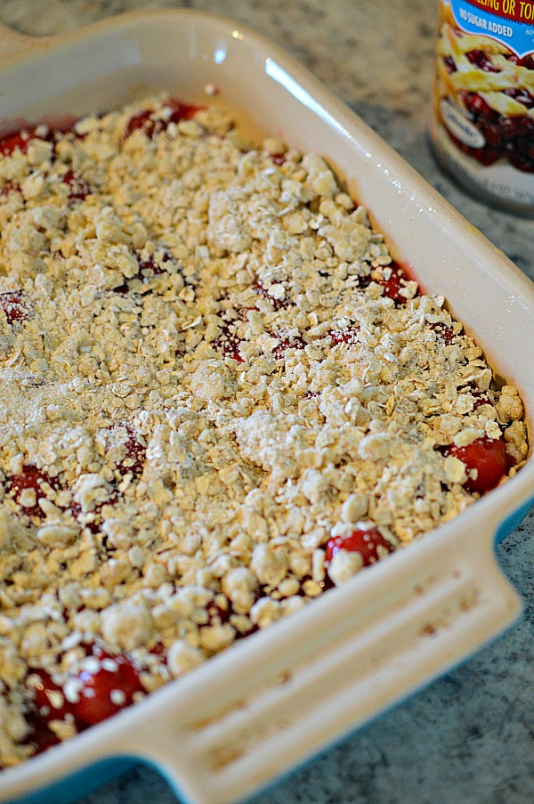How to make cherry pie bars