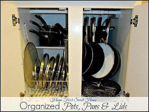 Tips for Organizing Pots & Pans