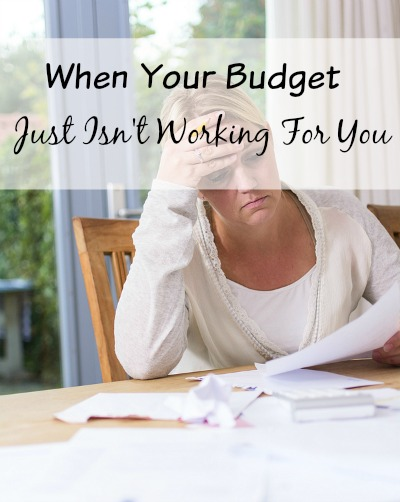 When Your Budget Isn't Working