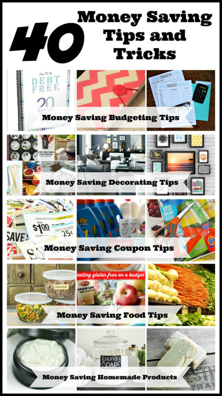 40 Money Saving Tips & Tricks