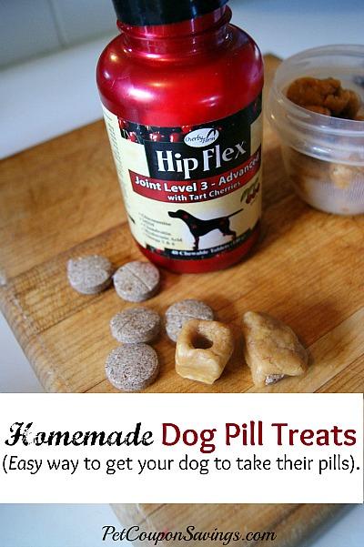 15 Homemade Dog Treats | Easy Homemade Dog Pill Treats