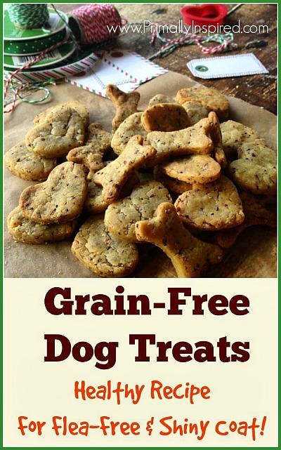 15 Homemade Dog Treats | Homemade Grain Free Dog Treats