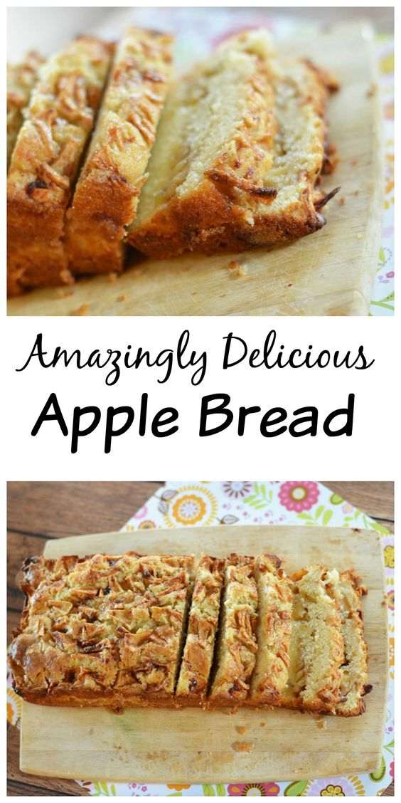 Homemade Apple Bread - Amazingly Delicious!