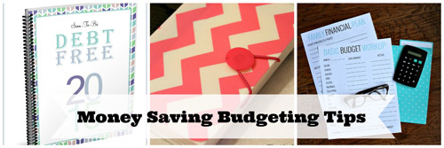 Money Saving Budgeting Tips and Tricks