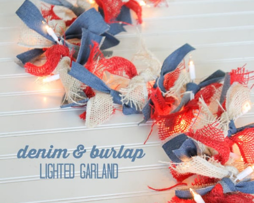 12 Cute Patriotic Outdoor Decoration Crafts- These 12 cute DIY patriotic outdoor decorations ideas will turn your ordinary yard or front porch into the festive place to be!   Fourth of July decorations, Memorial Day decorations, flag themed décor #FourthOfJuly #MemorialDay #DIY #patrioticDecor #ACultivatedNest