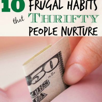 Frugal Habits of Thrifty People