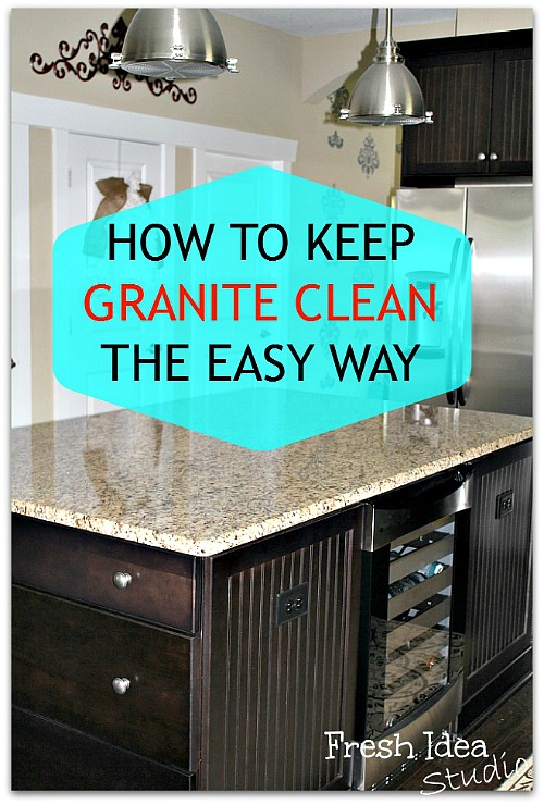 15 Handy Kitchen Cleaning Tips You Need To Know!! How to clean your granite counter tops
