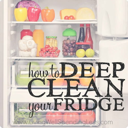 15 Handy Kitchen Cleaning Tips You Need To Know!! How to clean your refrigerator