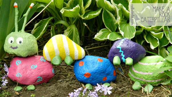 10 Summer Activities for kids: paint some rocks
