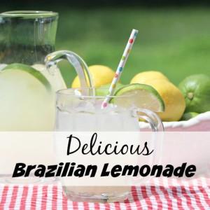 Delicious Brazilian Lemonade Recipe