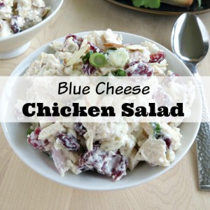 Delicious Blue Cheese Chicken Salad