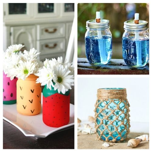 15 Fun Summer Mason Jar Diy Ideas A Cultivated Nest