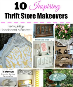 10 Inspiring Thrift Store Makeover Ideas