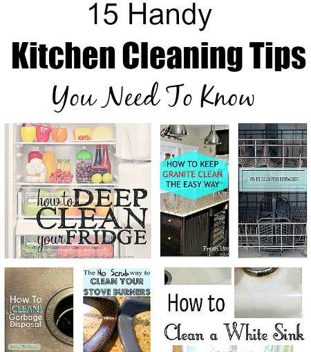 Can Cleaning Products Be Kept In A Kitchen With Food