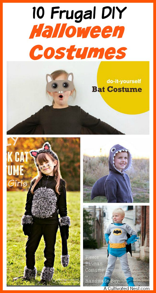 10 Frugal DIY Halloween Costumes