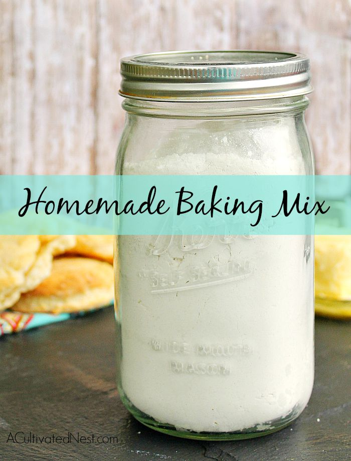 Homemade Bisquick Baking Mix