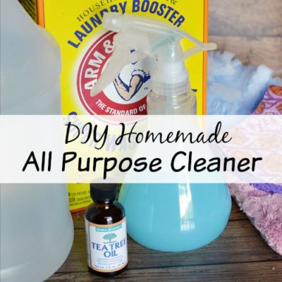 DIY Homemade All Purpose Cleaner