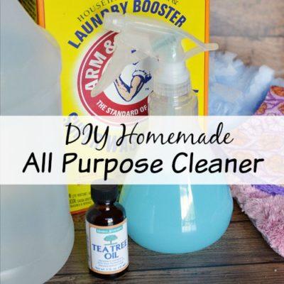 DIY Homemade All Purpose Cleaner