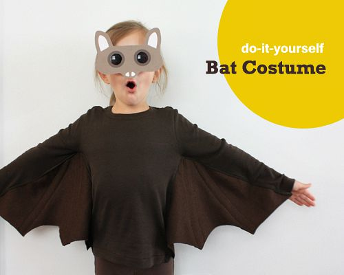 10 frugal DIY Halloween costumes- Bat