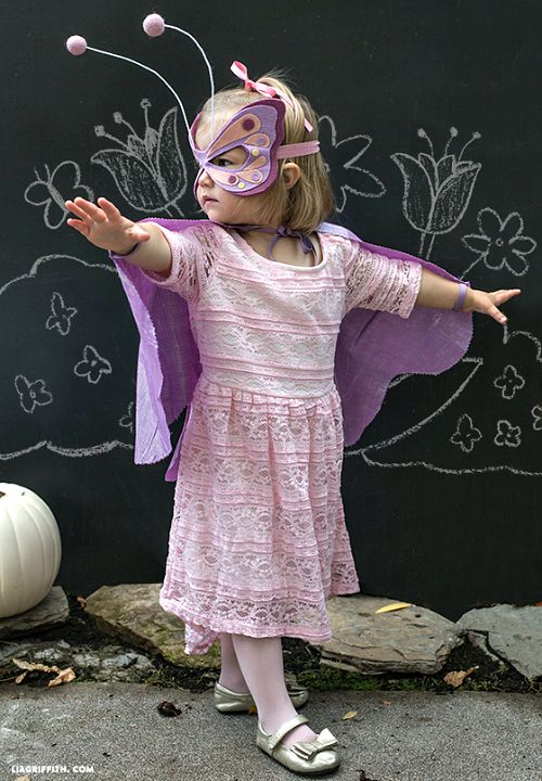 10 frugal DIY Halloween costumes- Butterfly