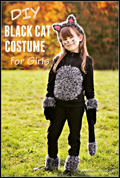 10 frugal DIY Halloween costumes- Cat