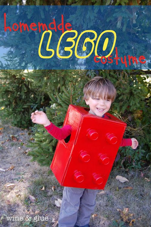 10 frugal DIY Halloween costumes- Lego